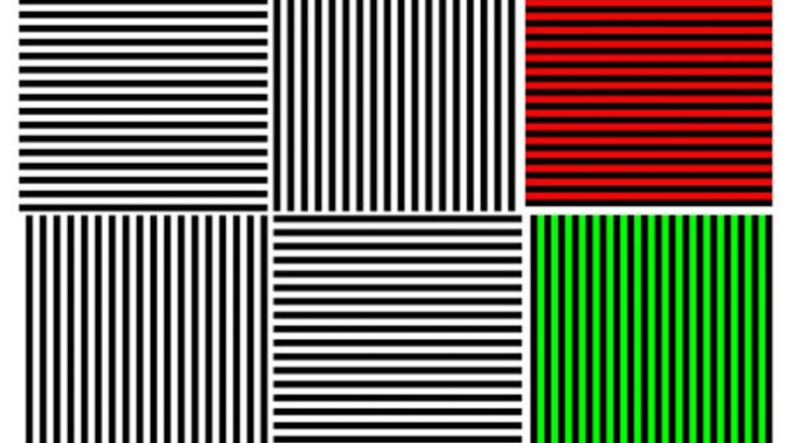 El efecto McCollough, o cómo una simple imagen puede hackear tu cerebro durante meses