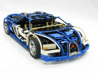 Illustration for article titled World's Most Expensive Car Is Lego's Most Amazing Car Too