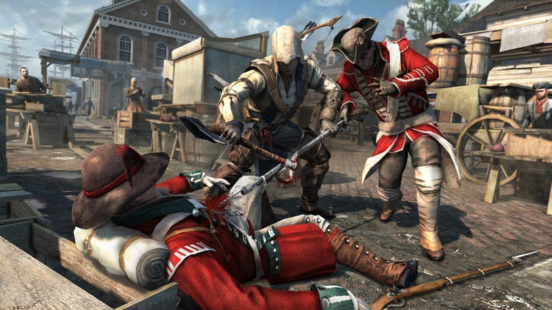 Illustration for article titled Redcoats Are In Serious Jeopardy in These New Assassin's Creed III Screenshots