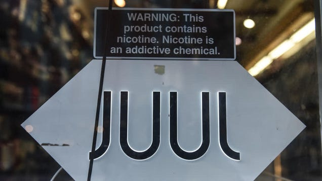 Juul Is Getting Sued by the FTC