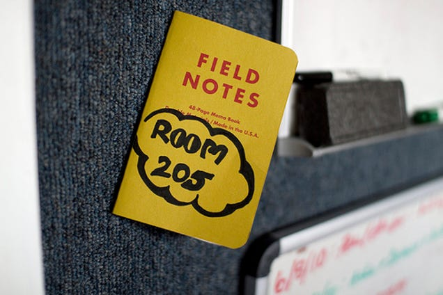 Take Field Notes to Focus Your Attentions