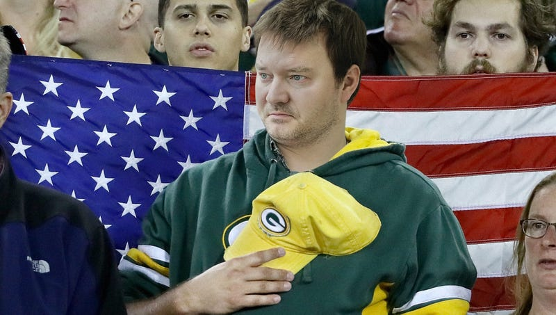Illustration for article titled Unpatriotic Man Does Not Maintain Erection During National Anthem