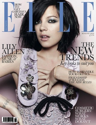 Illustration for article titled Lily Allen's Face: Not Thin Enough For British Elle?