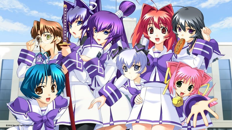 Illustration for article titled I Officially Permit Muv-Luv to Exist