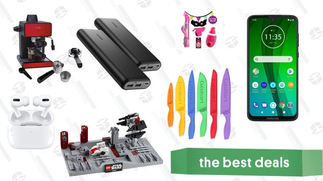 Friday s Best Deals: AirPods Pro, Cuisinart Kitchen Knives, Anker Power Banks, Bedroom Fun Vibrator Bundles, And More