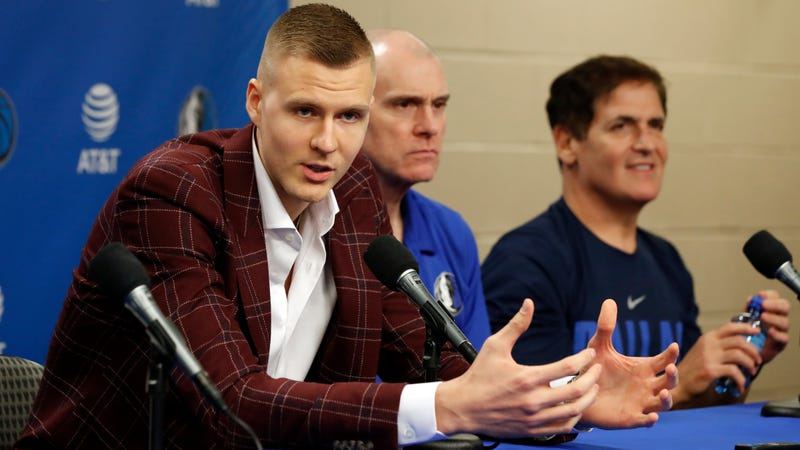 Illustration for article titled The Kristaps Porzingis Trade Had Been Building For Longer Than Any Of Us Realized