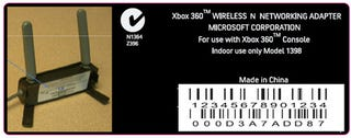 Illustration for article titled The 802.11n Xbox 360 Wireless Adapter Might Be $100