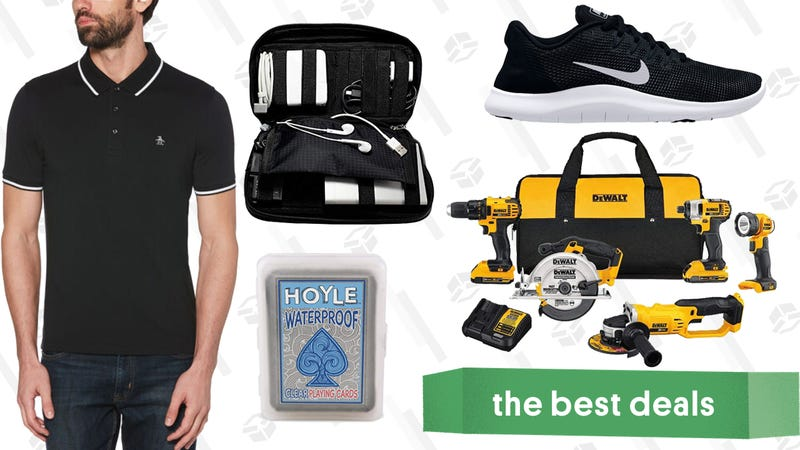 Illustration for article titled Saturday's Best Deals: Clear the Rack, DEWALT Tools, Casper Mattresses, and More