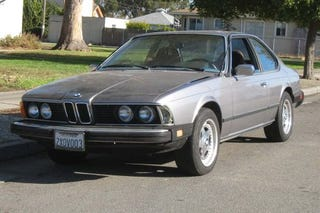 Illustration for article titled 1982 BMW 633CSi