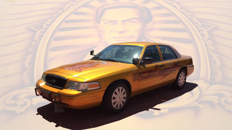 Illustration for article titled The Jerry Orbach Art Car Is Now A Reality