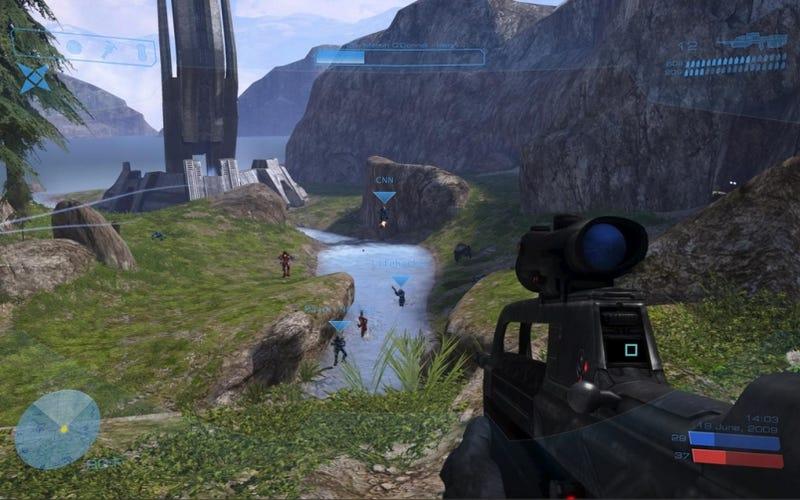 Illustration for article titled Impressive Halo Desktop Lets You Snipe Your Favorite Programs
