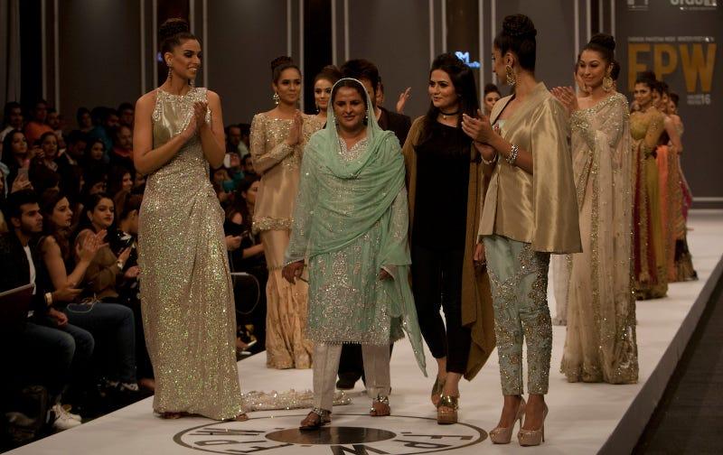 Survivor of Gang Rape Walks Runway at Pakistan Fashion Week to Help Others Come Forward