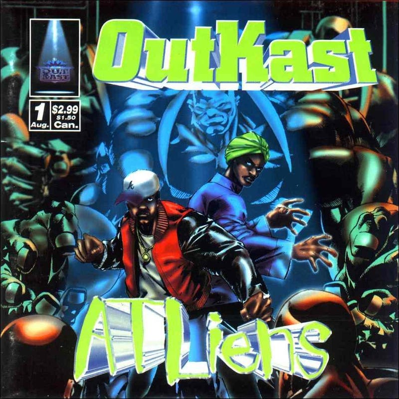 Cover of Outkast's ATLiens
