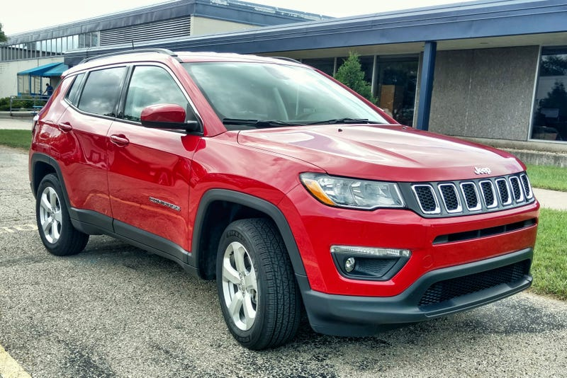 the new jeep compass looks much better with a contrasting roof color. Black Bedroom Furniture Sets. Home Design Ideas