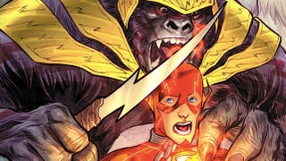 Illustration for article titled A sneak preview of  The Flash, guest-starring Gorilla Grodd!