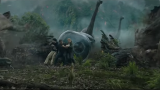 Screenshot from Jurassic World: Fallen Kingdom