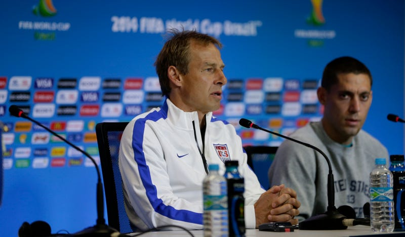 Illustration for article titled Jürgen Klinsmann Isn't Happy About Getting An Algerian Ref