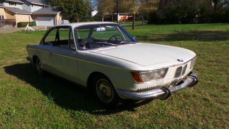 Illustration for article titled For $11,900, This 1966 BMW 2000C Could Be Your Bavarian Cream Puff