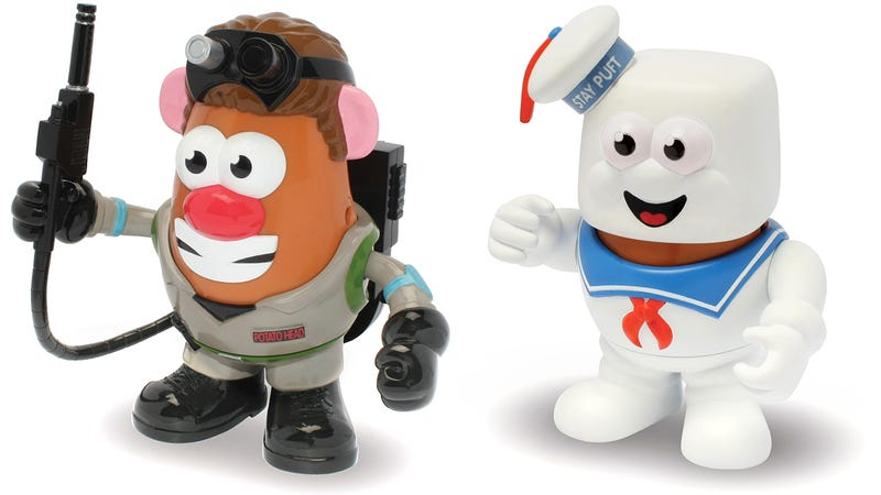 Illustration for article titled Mr. Potato Head Joins Both Sides of the Ghost-BustingBattle