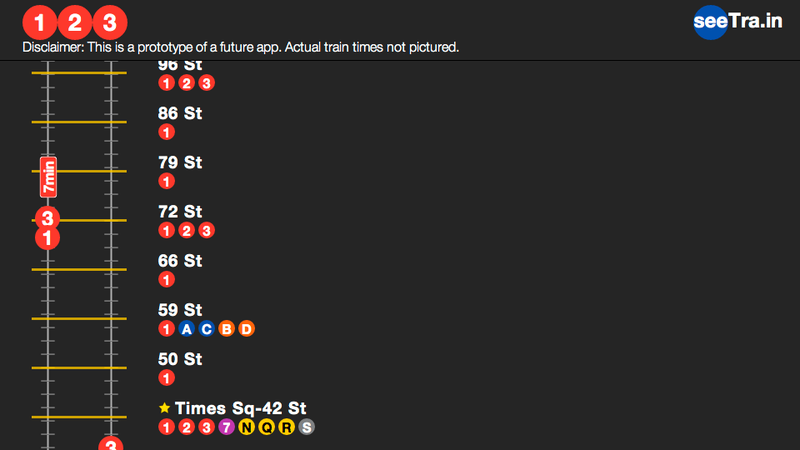 Illustration for article titled An HTML 5 App That Tracks NYC Subways in Real Time? Yes, Please!