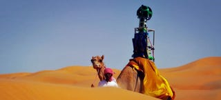 Illustration for article titled Google Has A Street View Camel