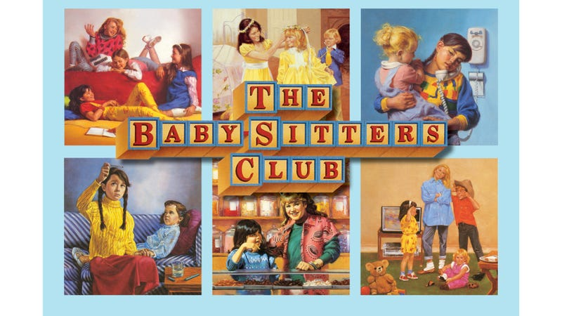 Illustration for article titled Introduce Your Kid to the Baby-Sitters Club