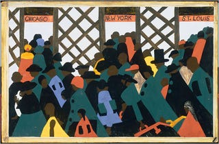 "Jacob Lawrence's 1943 ""Migration Series"""