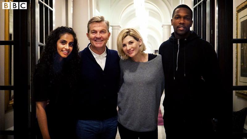 Jodie Whittaker's Doctor Who sidekicks revealed