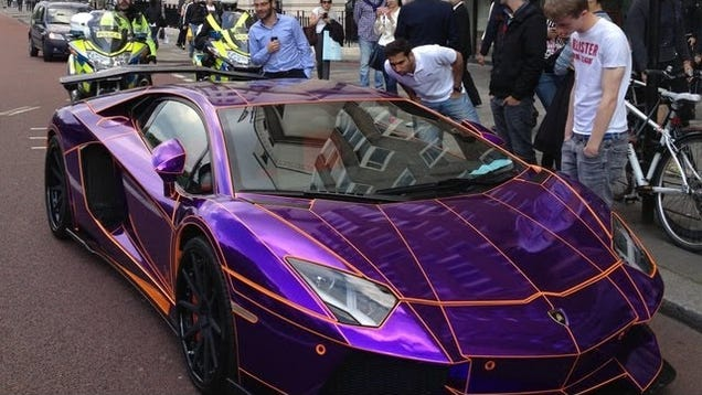 uninsured 380000 lamborghini aventador could be crushed in england