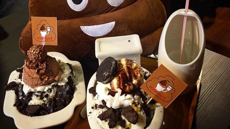 Poop Cafe Dessert Bar Toronto