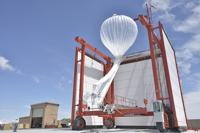Foto: Project Loon (Google+).