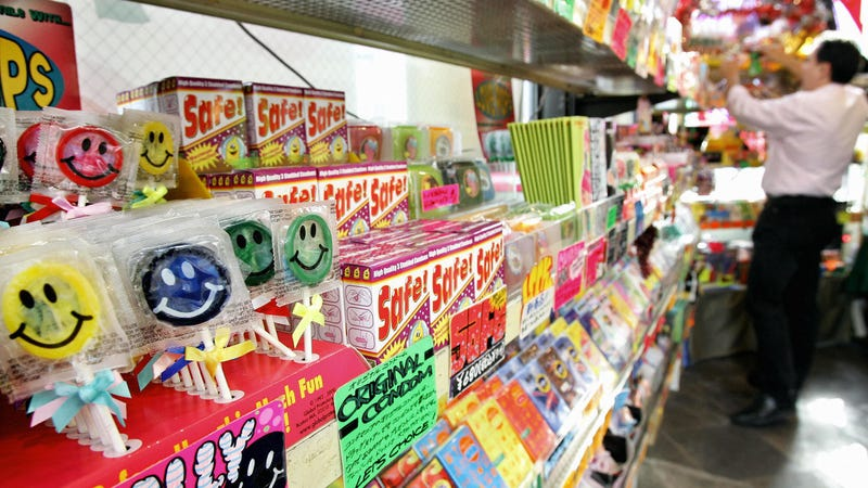 """These lollipop-shaped condoms were the only non-NSFW picture we could find after searching for """"Japanese penis candy,"""" surprisingly."""