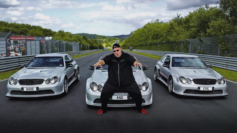 Illustration for article titled Watch Kim Dotcom Race An F1 Driver In Video 'Seized By The FBI'