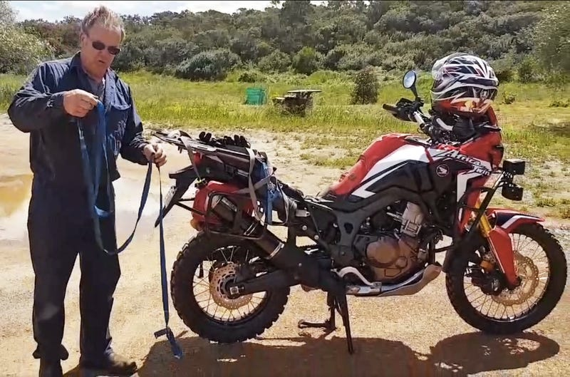 How To Start Any Motorcycle Using... A Rope?
