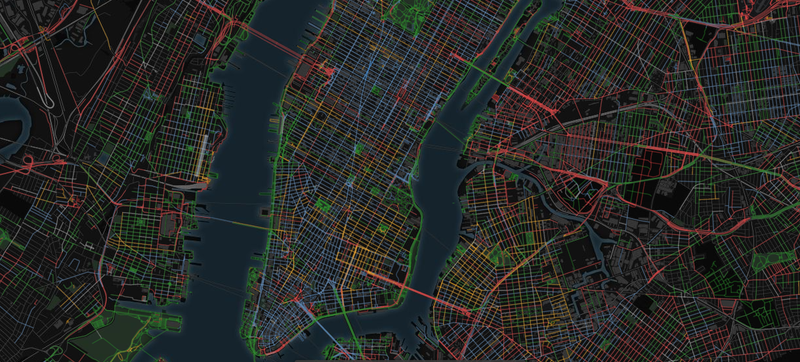 Sound maps of New York (Images by Chatty Maps)