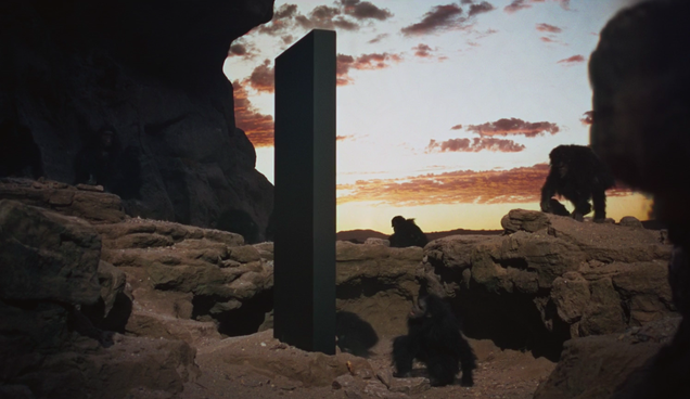 Men discover mysterious metal monolith in Utah wilderness, immediately touch it