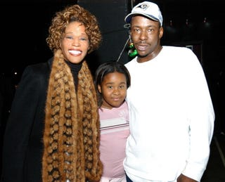 Whitney Houston, Bobbi Kristina and Bobby Brown in November 2003Frank Mullen/WireImage