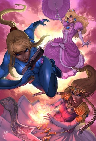 Illustration for article titled Don't Screw With The Girls Of Smash Bros.