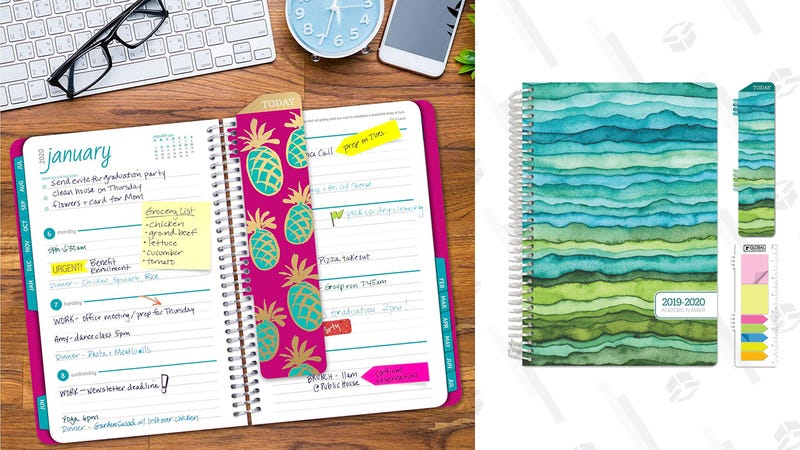 Back to School Planner Gold Box | Amazon