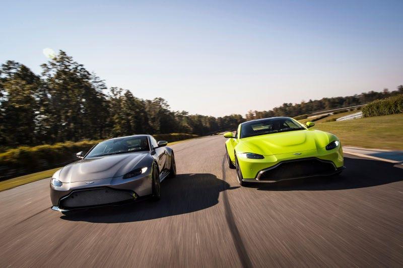 Illustration for article titled El nuevo Aston Martin Vantage es una preciosidad de 8 cilindros y el coche más barato de la marca