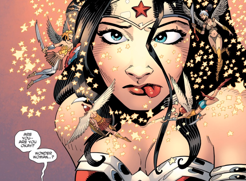 Illustration for article titled Wonder Woman Can't Save DC Comics' Most Disgusting Superhero Team