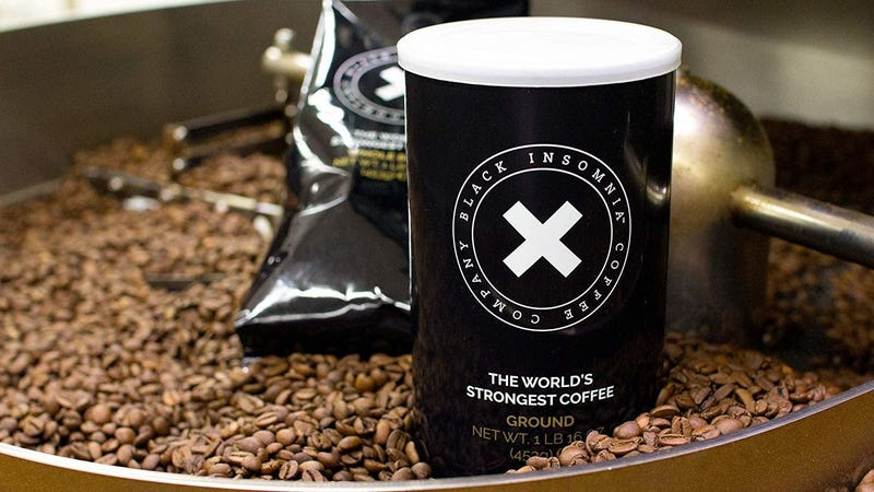 1 Pound Insomnia Whole Bean Coffee   $16   Amazon 1 Pound Insomnia Ground Coffee   $16   Amazon