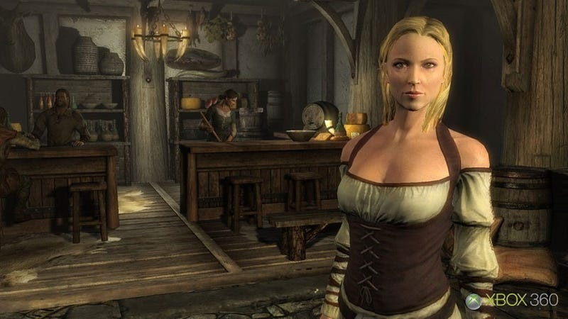 Illustration for article titled The New Elder Scrolls Can Actually Make Humans Look Attractive