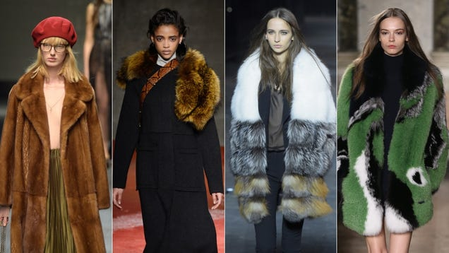 There Is So. Much. Fur. On the Runway.