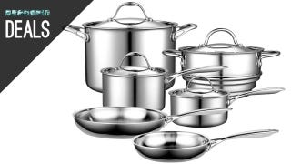 Illustration for article titled Multi-Clad Cookware Set, Fox Searchlight Collection, and More Deals
