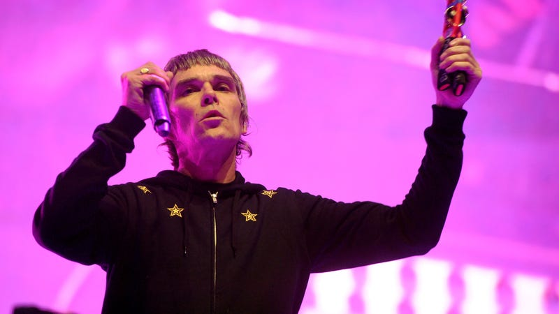 Illustration for article titled Stone Roses singer Ian Brown is teasing new solo music