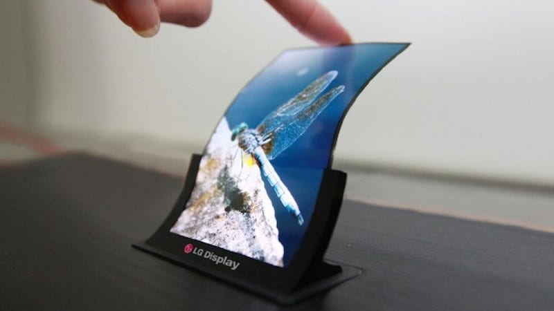 Illustration for article titled Flexible Displays Don't Mean Flexible Phones