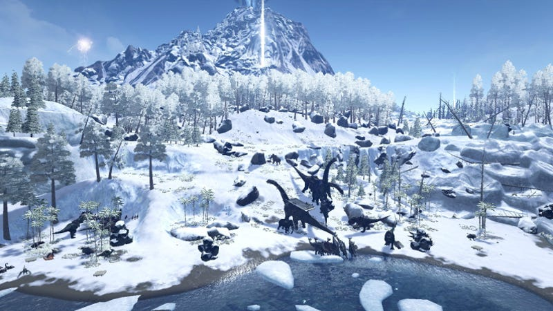 The New Ark Survival Evolved Update Messed Up Some