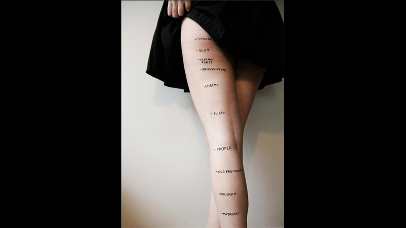 Illustration for article titled Are You a Prude or a Slut? A Handy Guide to Proper Skirt Length