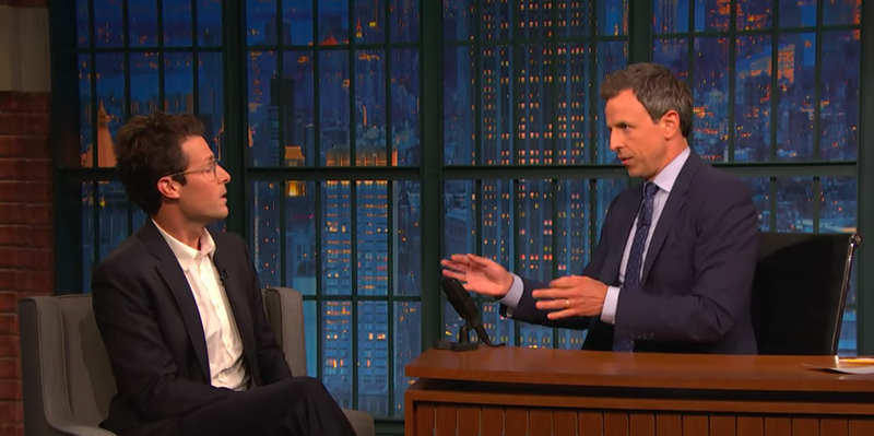 Jacob Soboroff, Seth Meyers